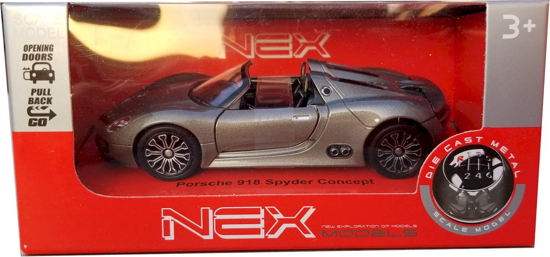 Details About Nex Models Porsche 918 Spyder Concept 1 34 39 Scales Bb43642cw