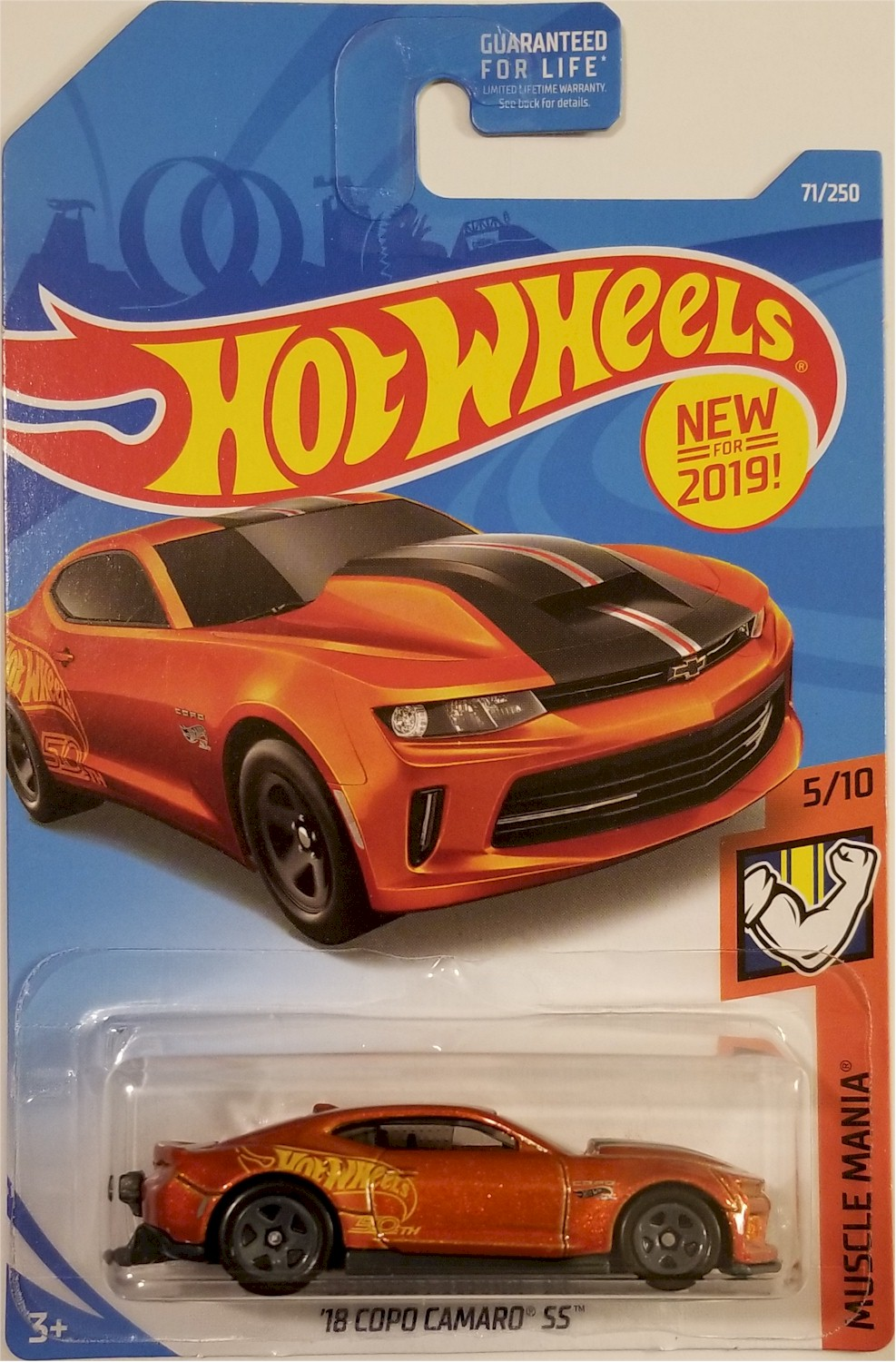 Copo Camaro Price >> Details About Hot Wheels 2019 Muscle Mania 5 10 18 Copo Camaro Ss 71 250 Bbfyb69