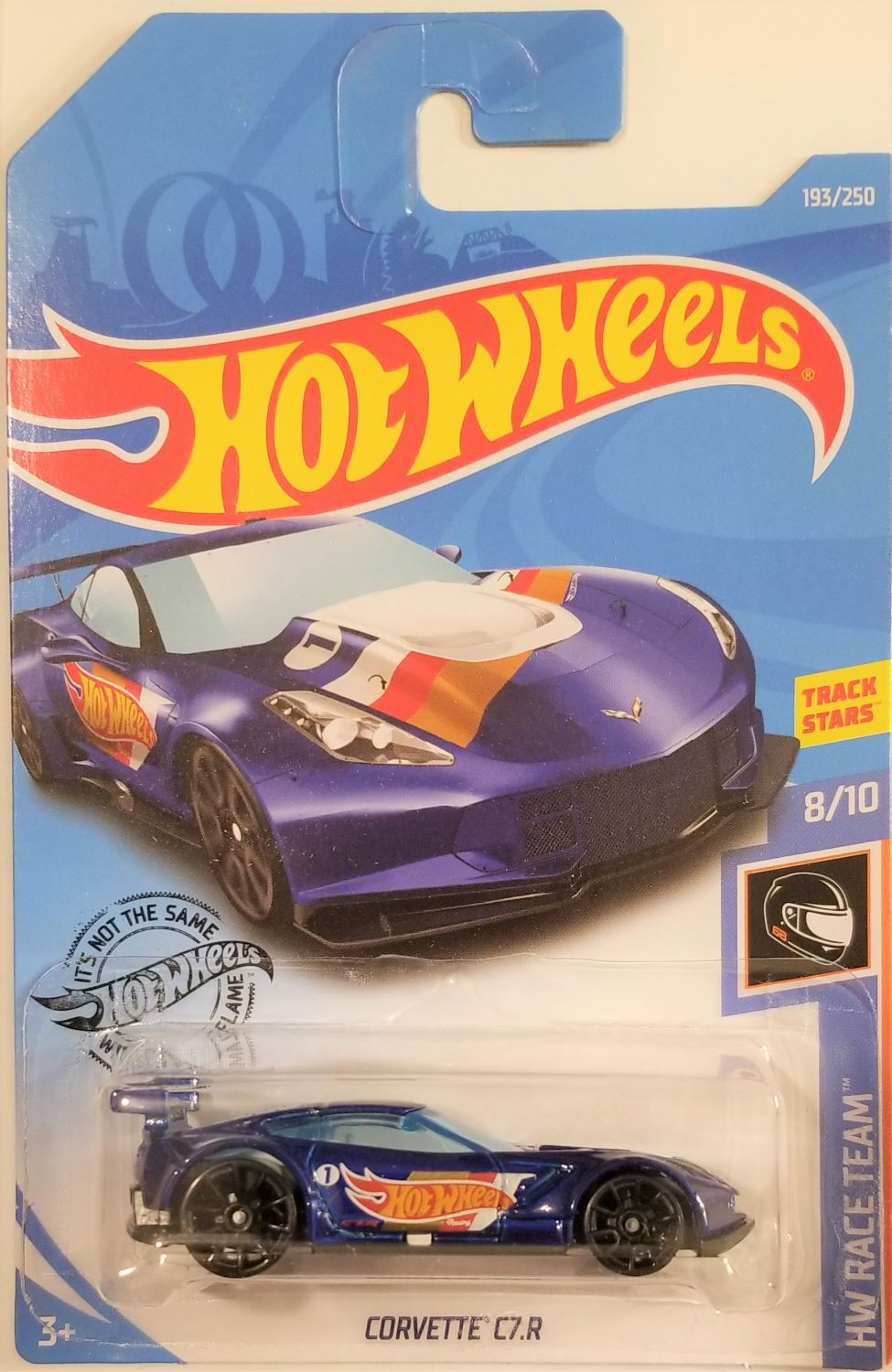 Hot Wheels 2019 Hw Race Team 8 10 Corvette C7 R 193 250