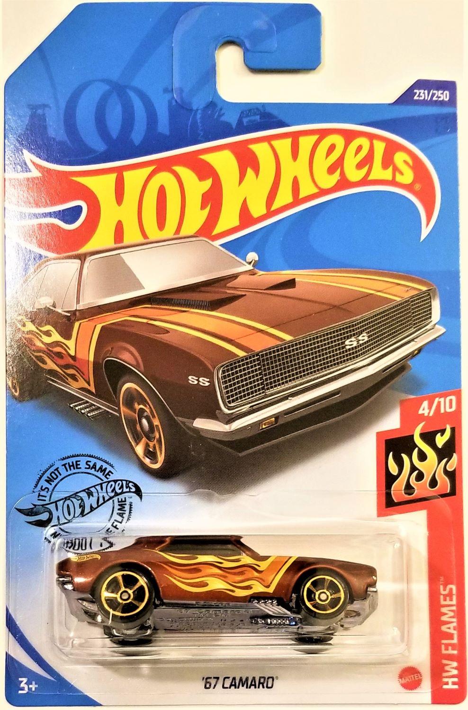 2020 Hot Wheels Case P Kroger Exclusive /'67 Camaro #231 HW Flames #4//10 Die-Cast